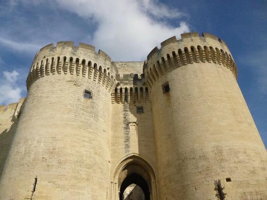 Fort Saint-Andre : Entrance Turrets