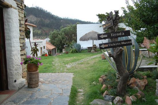 Museum of Indigenous Art ASUR : Vista del Museo de Arte Indígena de Sucre