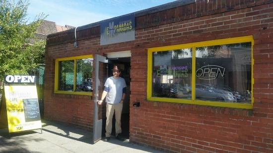 Earthquake Empanadas : Find us at 416 N Main in Ellensburg, next to the Iron Horse Brewery!