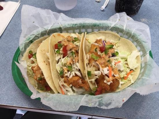 The Lucky Dog Diner: Outstanding Fish Tacos