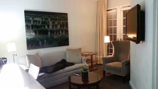 Kimpton Lorien Hotel & Spa : Living Room