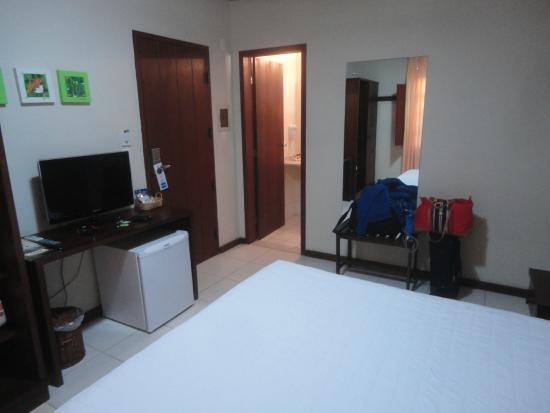 Hotel Eco Atlântico: quarto