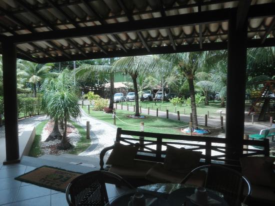 Hotel Eco Atlantico: entrada
