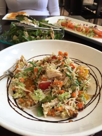 Hyde Park Barracks Cafe: Shredded chicken salad - divine!