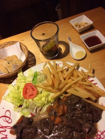 El Chalet Frances : Excelente Cena !!..