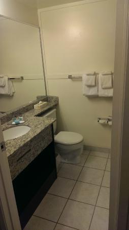 Travelodge Nanaimo: Bathroom