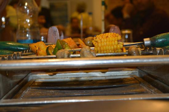 Barbeque Nation: veg BBQ