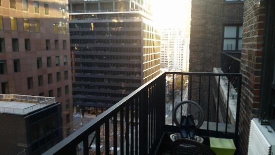 Residence Inn New York Manhattan Midtown East Balcony