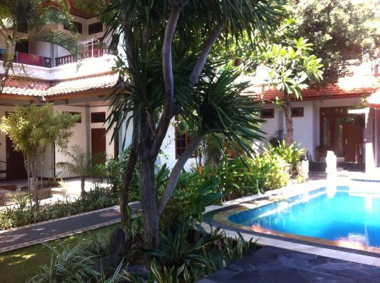 Sandat Hotel Legian: other view from swimming pool