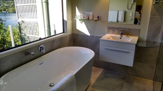 Solitaire Lodge: Baño