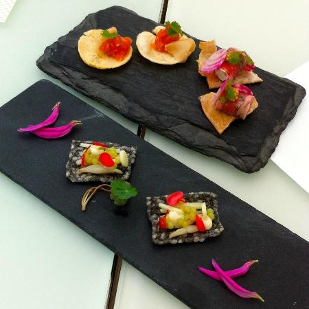 Restaurants Schoengruen: Gruss aus der Küche