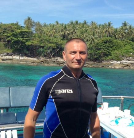 Infinity Ocean Diving - Private Diving : olivier 28 11 2014 RACHA HAI Phukhet avec SAmy