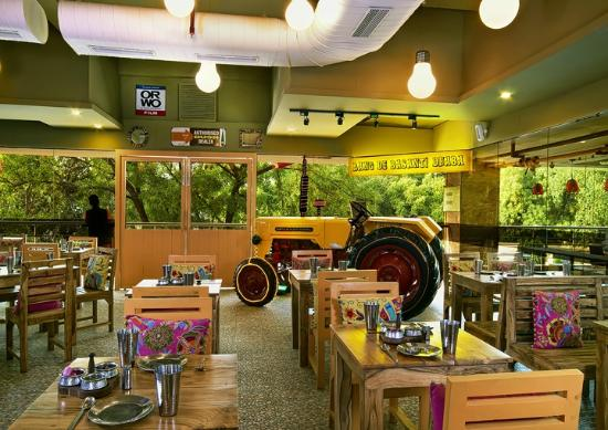 our very own tractor picture of rang de basanti dhaba new delhi
