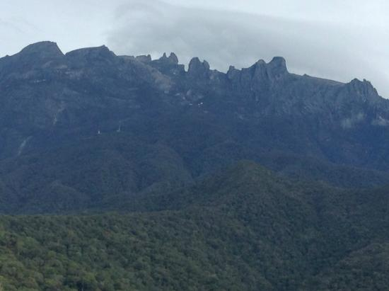 Kinabalu Rose Cabin Sabah: view from lodge