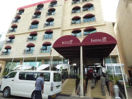 Facade Picture Of Jupiter International Hotel Bole Addis Ababa