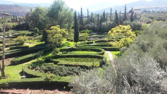 Vue Panoramique Picture Of Jardin Bio Aromatique Nectarome