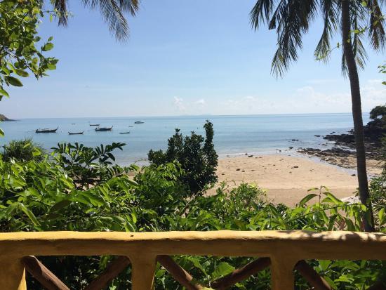 Phra Nang Lanta: View from our balcony
