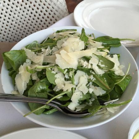 Prego Restaurant : Rocket salad with Parmesan