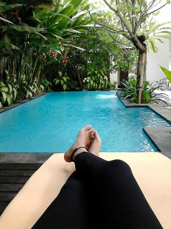 The Pavilion Hotel Kuta: Great swimming pool, very clean
