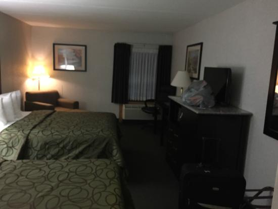 Best Western Tully Inn : Bedroom