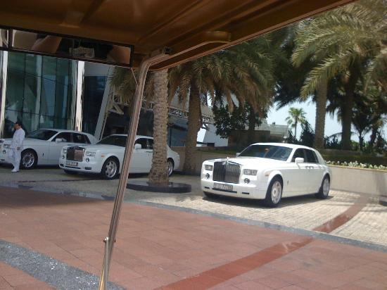 The Hotel Own Roll Royce Shuttle Service Foto De Burj Al