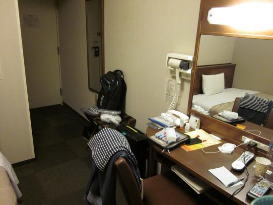 Hotel Route Inn Mitokenchomae : 部屋