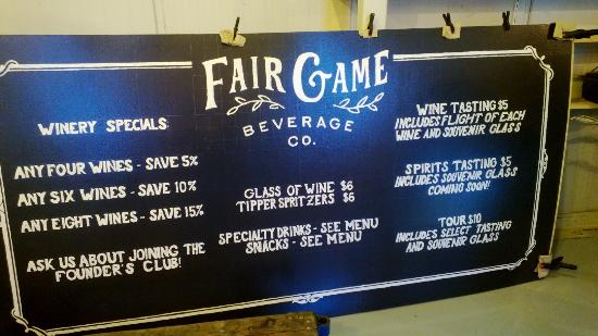 ‪Fair Game Beverage Company‬