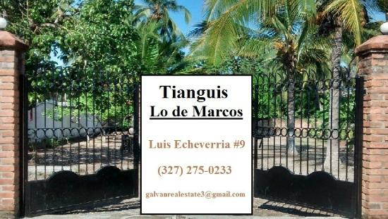 Welcome to the Tianguis in Lo De Marcos!