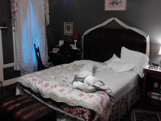 Carrier Houses Bed and Breakfast : il letto comodissimo
