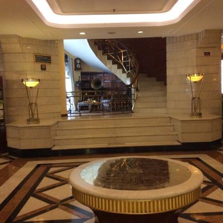 Park Hotel Shanghai: 大堂一角