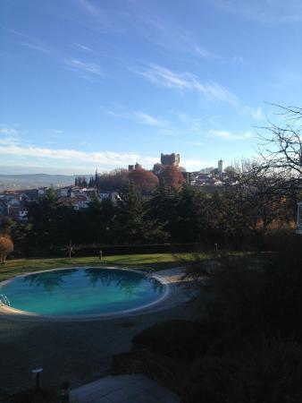 Pousada de Braganca São Bartolomeu: Braganca Castle - View from Restaurant & Room