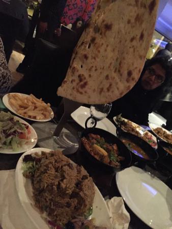 Akbar's: Great food
