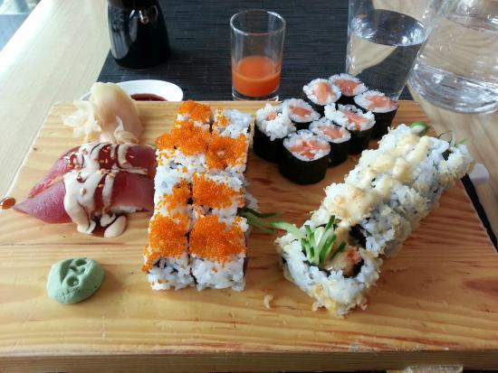 best sushi ever picture of ono by steffen henssler hamburg tripadvisor. Black Bedroom Furniture Sets. Home Design Ideas