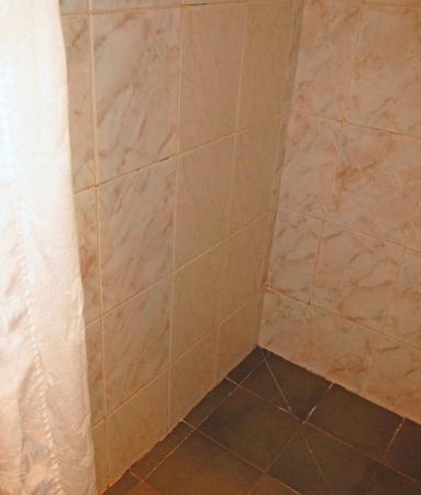 Wheatlands Lodge Hotel: mix n match tiles