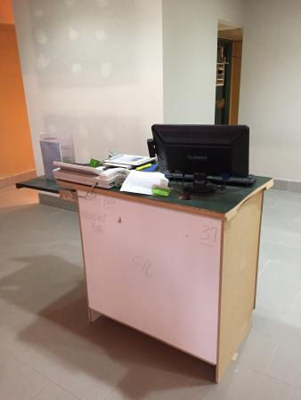Quality Inn & Suites Broomfield Westminster: Reception desk