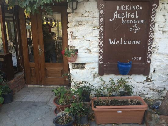 Kirkinca Arsipel Restaurant: Arşipel