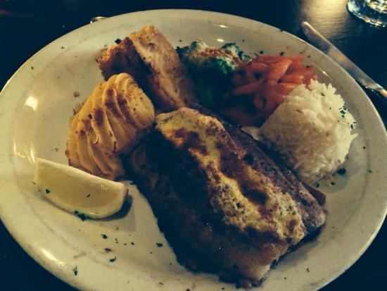 The Promenade: Stuffed fish.. Oh so good!!!