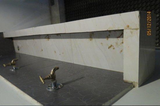 Alobar1000 Hostel: no hygiene IN THE BATHROOM