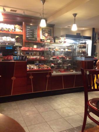 Caffe Nero: Front counter