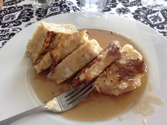 The Island Room Restaurant at Cedar Cove: amaretto french toast
