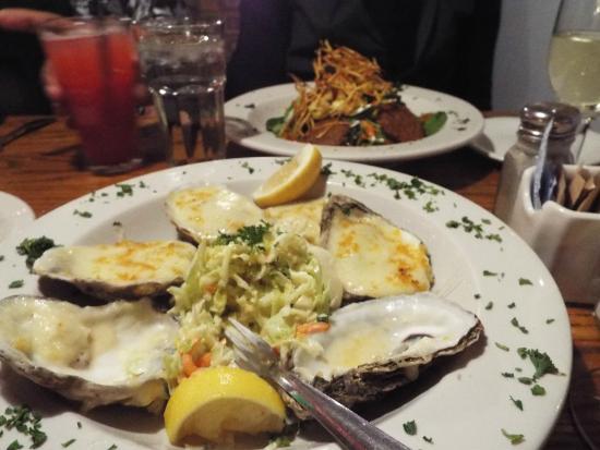 The Fresh Fish Company: Oysters au gratin