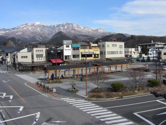 Nikko Park Lodge Tobu Ekimae: Vista desde la habitación