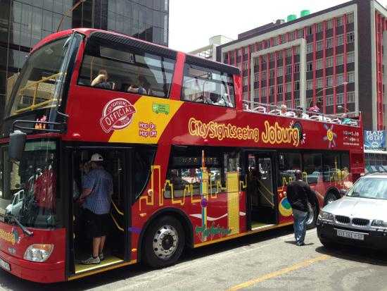 City Sightseeing Joburg : Your Bus