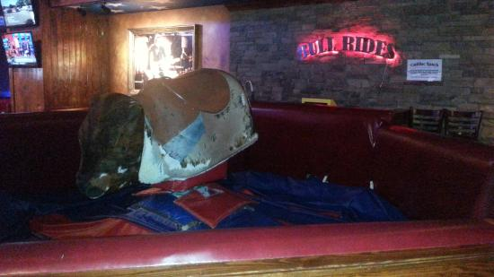 Mechanical bull looks like fun - Picture of Cadillac Ranch, National