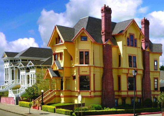 Abigail 39 s elegant victorian mansion historic lodging for Cabine eureka ca