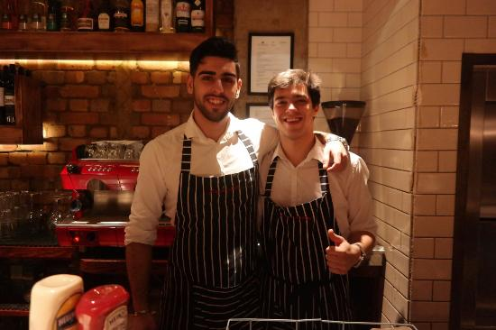 Burger & Lobster - Mayfair: Recardo is best server I can't forget your service  and robstar thank you _glee kim