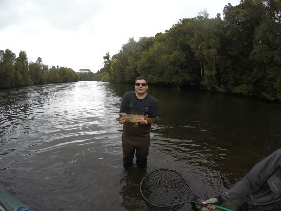 Tres Rios Lodge Fly Fishing & Adventure : Maullin river