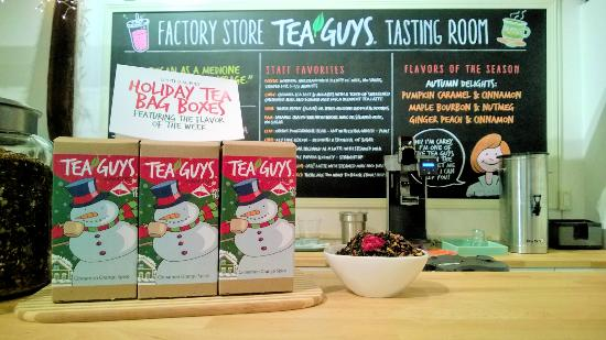 Tea Guys Tasting Room
