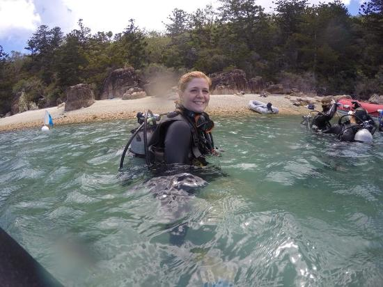 Illusions Whitsundays: Happy after a good dive!