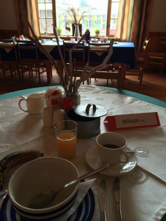 Hotel Pension A la Mer : Breakfast